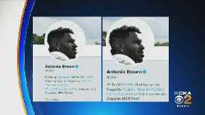 Antonio Brown Changes Twitter Bio Amdist Trade Rumors [Video]