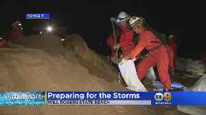 Malibu Residents Preparing For Storms [Video]