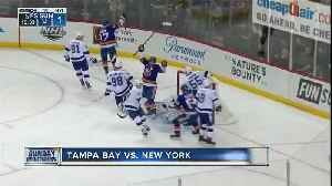 Casey Cizikas and Cal Clutterbuck help New York Islanders beat Tampa Bay Lightning 5-1 [Video]