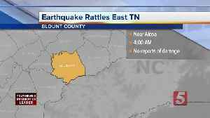 3.0 magnitude earthquake recorded in East Tennessee [Video]