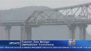 Tappan Zee Demolition Set For Tuesday [Video]