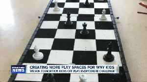 News video: Do you think Western New York needs more play spaces for kids? Here's how you can help.