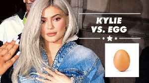 Kylie claps back at egg who beat her Instagram record [Video]