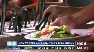 Tips to keeping up with your new year's resolutions [Video]
