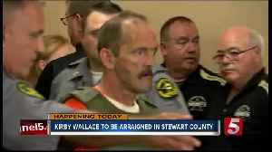 Kirby Wallace, subject of 2-week manhunt, to be arraigned in court Monday [Video]
