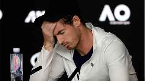 News video: Andy Murray Bows Out Of Australian Open For Last Time