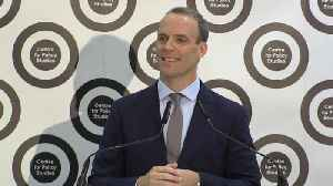 Dominic Raab Answers Question About Tory Leadership At Centre for Policy Studies [Video]