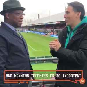 Would Ian Wright rather Arsenal get Top 4 or win the FA Cup? [Video]