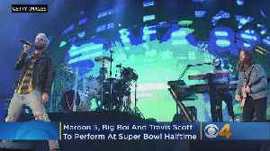 Maroon 5 Will Perform At Halftime At Super Bowl, Along With Big Boi, Travis Scott [Video]