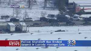 Suspect Shot After Holding 2 Women Hostage At UPS Facility, Say Police [Video]