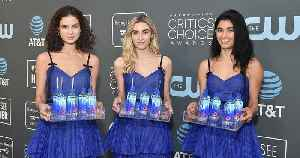 Fiji Water Girls Return to the Red Carpet at the 2019 Critics' Choice Awards After Going Viral [Video]