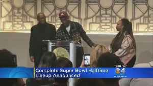 Super Bowl LIII Halftime Show Finalized [Video]