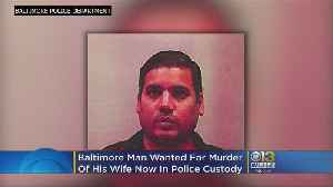 Baltimore Man Wanted In Wife's Killing Turns Himself Into Authorities [Video]