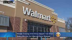 Woman Drinking Wine From Pringles Can Banned From Walmart [Video]
