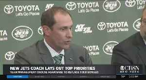 New NY Jets Coach Adam Gage Lays Out To Priorities [Video]