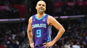 Tony Parker Returns 'Home' to San Antonio For First Time in Hornets Uniform [Video]