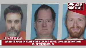6 arrested in human trafficking investigation, one at large [Video]