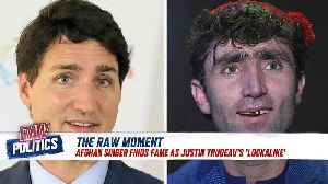 Canada PM Justin Trudeau: is this Afghan singer his lookalike? [Video]