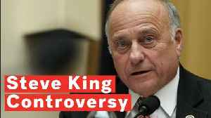 Steve King Condemned By Republicans After Racially Charged Comments [Video]