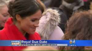Trending: Meghan Markle Says She Is 6 Months Pregnant [Video]