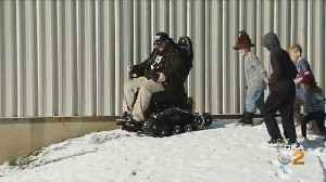 Mario Lemieux Foundation Helps Surprise Vet With All-Terrain Wheelchair [Video]