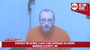 News video: Suspect in Jayme Closs case makes first appearance in court