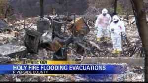 Voluntary Evacuations in Place for Holy Fire Burn Area [Video]