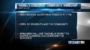 Rachel's challenge in albert lea [Video]