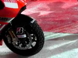 Ducati unveil 200mph MotoGP ice racer! [Video]