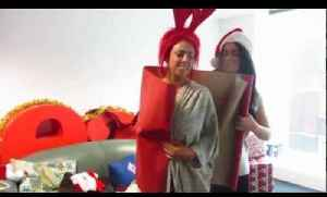 Geordie Shore wrapping paper challenge [Video]