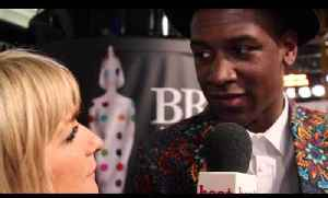 Labrinth talks to heat at the Brit Awards 2013, while wearing quite the jacket [Video]