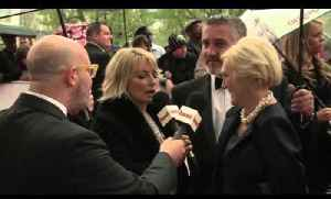 BAFTA TV Awards 2103: Mary Berry and Paul Hollywood on the battle of bread and cakes! [Video]