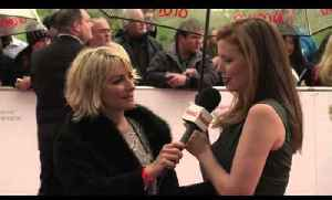 BAFTA TV Awards 2013: Amy Nuttall says she's indifferent that Downton Abbey didn't get nominated [Video]