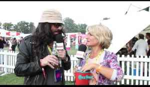 Keith Lemon drunk and in disguise at V Festival! [Video]