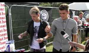 Union J show us their new tattoos and cause mayhem playing ping pong - Fusion Festival [Video]