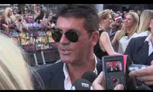 Simon Cowell is very excited to be a dad and a reporter asks him for money!!! [Video]