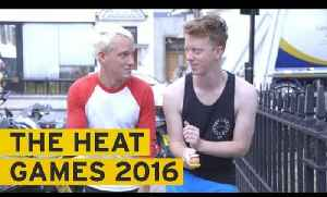 Jamie Laing and James Barr compete in The Heat Games 2016 [Video]