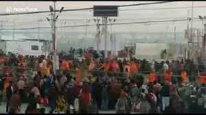 12 million Hindu pilgrims begin to pour in for ritual bath in North India [Video]