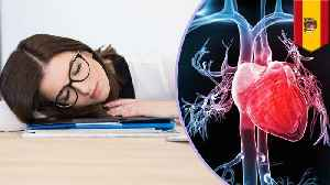 Less than 6 hours sleep a night could increase heart disease risk [Video]