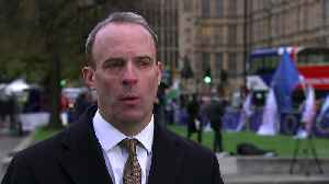 Raab: Britain will leave EU 'with or without a deal' [Video]