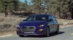 Hyundai Elantra GT N Line Driving Video [Video]
