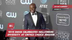 Taye Diggs Hosts Critics Choice Awards With Message Of Diversity [Video]