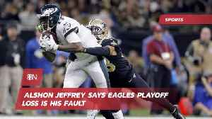 Alshon Jeffrey Takes The Eagles Playoff Loss Personally [Video]