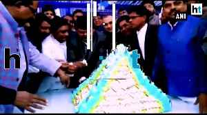 Mayawati's birthday cake looted during an event in Amroha [Video]