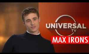 Max Irons reveals how he gets out of awkward conversations [Video]