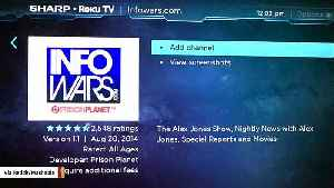 Roku Draws Controversy After Allowing Infowars On Its Platform [Video]