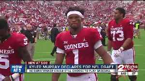 Sooners QB Kyler Murray declares for NFL Draft [Video]