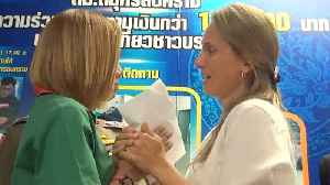 Honest Shop Assistant Becomes 'Life-Long Friends'  With Tourist After Returning Her Lost Cash [Video]