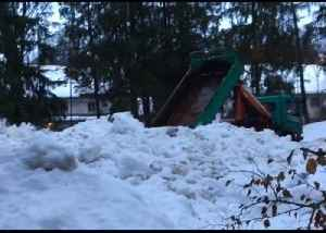 Snow Piled in Public Park as Winter Storms Hit Bavaria [Video]