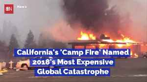 Most Costly Disaster In 2018 Was The California Fire [Video]